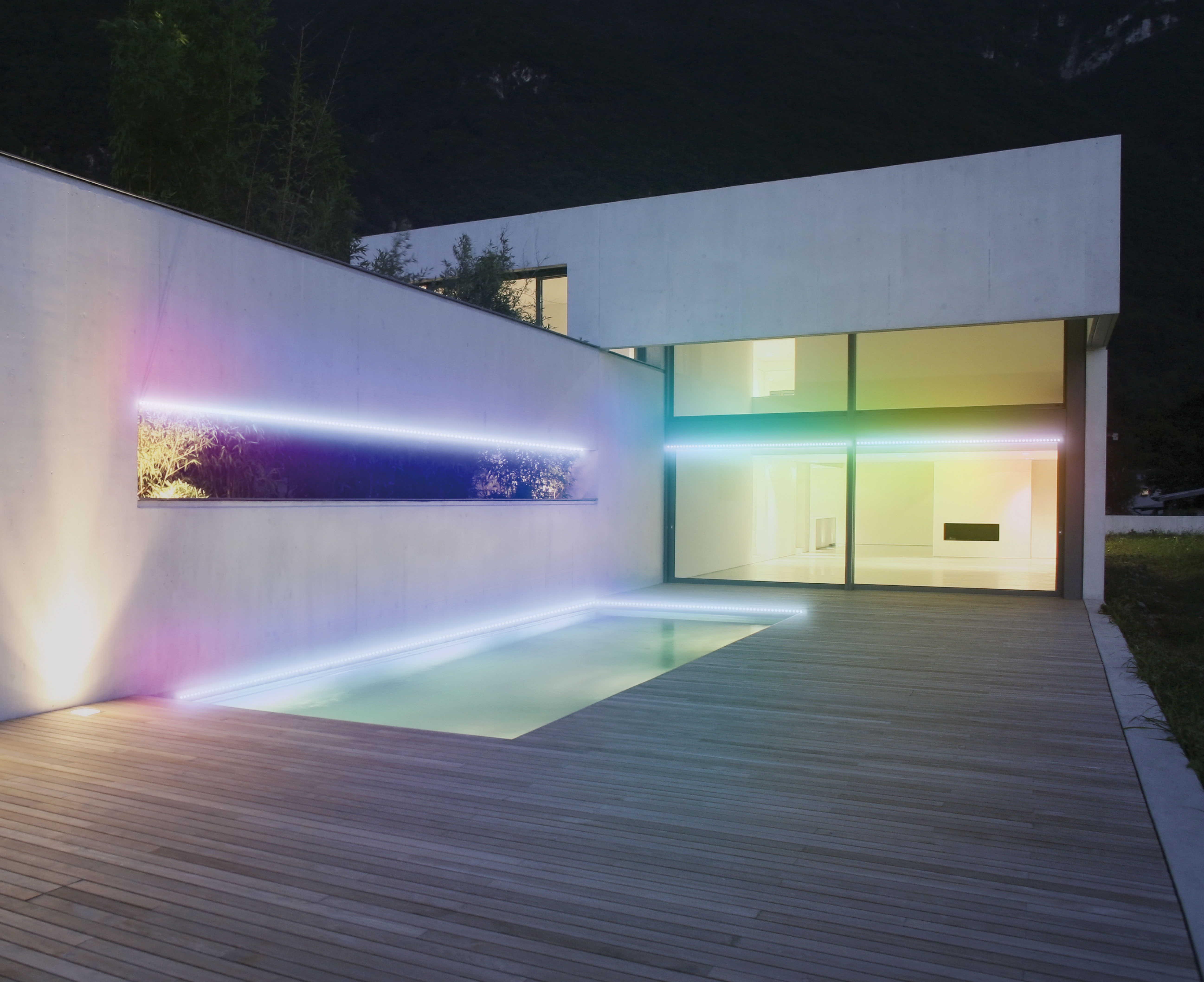 led strip. Black Bedroom Furniture Sets. Home Design Ideas